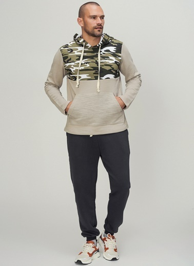 People By Fabrika Sweatshirt Taş